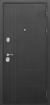 Дверь Цитадель Троя Черный муар  Палисандр темный