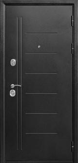Дверь Цитадель Троя Серебро  Темный кипарис царга