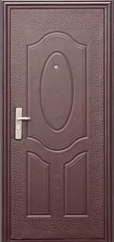 Дверь Цитадель Е 40М Коричневый  Коричневый
