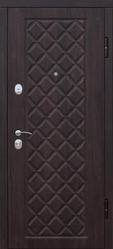 Дверь Цитадель Kamelot Вишня темная  Беленый дуб