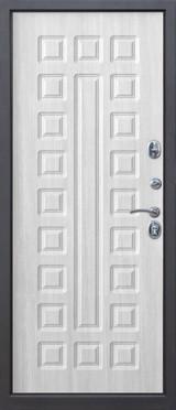 Дверь Цитадель 12см Сенатор Венге  Белый ясень