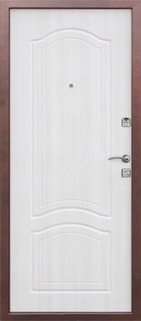 Дверь Цитадель Доминанта Античная медь  Белый ясень