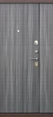 Дверь Цитадель 7,5см Гарда 1200 Античная медь  Венге тобакко