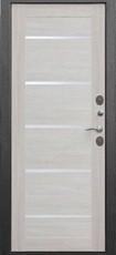Дверь Цитадель 11см Isoterma Серебро  Лиственница беж
