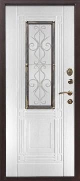 Дверь Цитадель Венеция Античная медь  Белый ясень