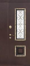 Дверь Цитадель Венеция 1200 Античная медь  Венге