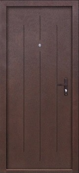 Дверь Цитадель Стройгост 5-1 Античная медь  Античная медь