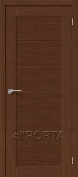 Дверь el'Porta Легно 21 Brown Oak еврошпон