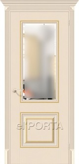 Дверь el'Porta Классико 33G-27 Ivory экошпон