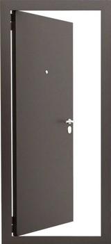 Дверь Гардиан ДС 1ВО Коричневый - Венге светлый ПЭ4