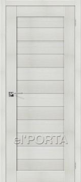 Дверь el'Porta Порта X 21 Bianco Veralinga экошпон