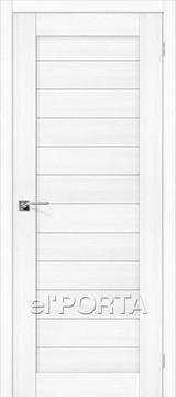 Дверь el'Porta Порта X 21 Snow Veralinga экошпон