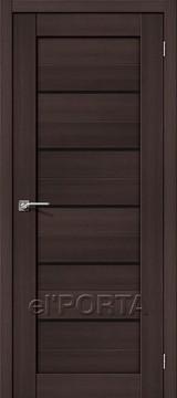 Дверь el'Porta Порта X 22 BS Wenge Veralinga экошпон