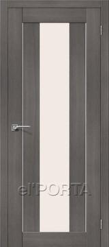 Дверь el'Porta Порта X 25 alu Grey Veralinga экошпон