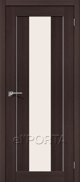 Дверь el'Porta Порта X 25 alu Wenge Veralinga экошпон