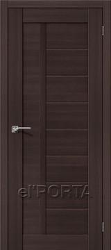 Дверь el'Porta Порта X 26 Wenge Veralinga экошпон