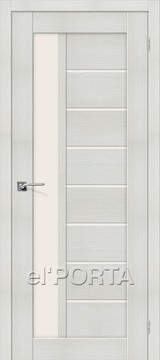 Дверь el'Porta Порта X 27 Bianco Veralinga экошпон