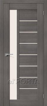 Дверь el'Porta Порта X 27 Grey Veralinga экошпон