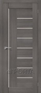 Дверь el'Porta Порта X 29 Grey Veralinga экошпон