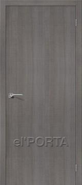 Дверь el'Porta Порта Z 50 Grey Crosscut экошпон