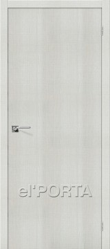 Дверь el'Porta Порта Z 50 Bianco Crosscut экошпон