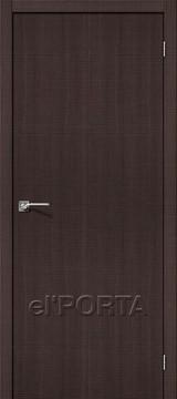 Дверь el'Porta Порта Z 50 Wenge Crosscut экошпон