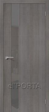 Дверь el'Porta Порта Z 51 S Grey Crosscut экошпон