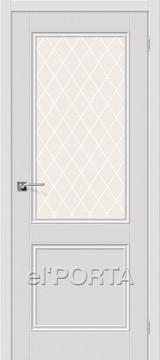 Дверь el'Porta Порта X 63 WC Alaska эмалит