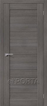 Дверь el'Porta Порта X 21 Grey 3D-Graf