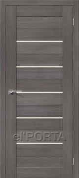 Дверь el'Porta Порта X 22 Grey 3D-Graf