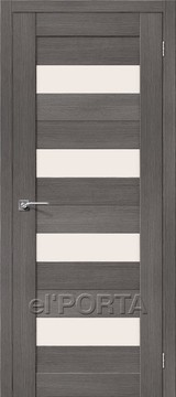 Дверь el'Porta Порта X 23 Grey 3D-Graf