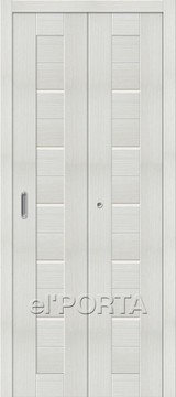 Дверь el'Porta складная Porta X 22 Bianco Veralinga экошпон