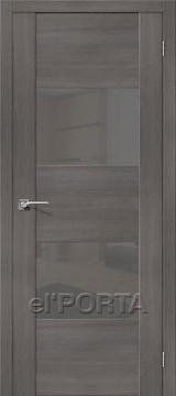 Дверь el'Porta Vetro VG2 S Grey Veralinga экошпон