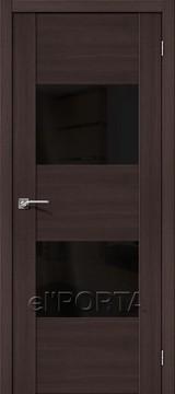 Дверь el'Porta Vetro VG2 BS Wenge Veralinga экошпон