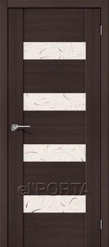 Дверь el'Porta Vetro VM4 SA Wenge Veralinga экошпон