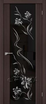 Дверь el'Porta Soft S-13 Print Wenge Veralinga экошпон