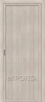 Дверь el'Porta Twiggy (раздвижная) M1 Cappuccino Veralingа экошпон
