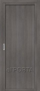 Дверь el'Porta Twiggy (раздвижная) M1 Grey Veralinga экошпон