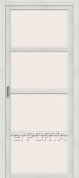Дверь el'Porta Twiggy (раздвижная) V4 MF Bianco Veralinga экошпон