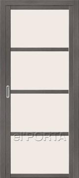 Дверь el'Porta Twiggy (раздвижная) V4 MF Grey Veralinga экошпон