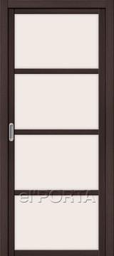 Дверь el'Porta Twiggy (раздвижная) V4 MF Wenge Veralinga экошпон