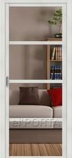 Дверь el'Porta Twiggy (раздвижная) V4 C Bianco Veralingа экошпон