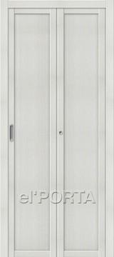 Дверь el'Porta складная Twiggi M1 Bianco Veralinga экошпон