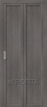 Дверь el'Porta складная Twiggi M1 Grey Veralinga экошпон