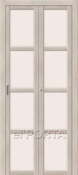 Дверь el'Porta складная Twiggi V4 Magic Fog Cappuccino Veralinga экошпон