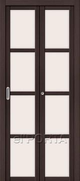 Дверь el'Porta складная Twiggi V4 Magic Fog Wenge Veralinga экошпон