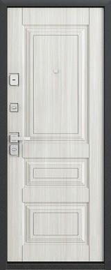 Дверь Бульдорс 45 Дуб шоколад N-7 Дуб перламутр N-7