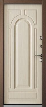 Дверь Бульдорс Termo-1 Античная медь  Перламутр белый TB-1