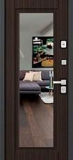 Дверь Бульдорс 44Т Черный шелк K-2 Лиственница шоколад T-5