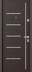 Дверь Бульдорс 13 Античная медь  Венге M-4